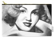 Young Marilyn Carry-all Pouch