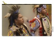 Pow Wow Young Men Carry-all Pouch