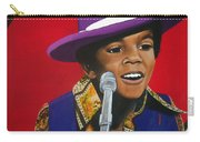 Young Michael Jackson Singing Carry-all Pouch