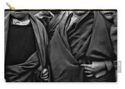 Young Monks II Bw Carry-all Pouch