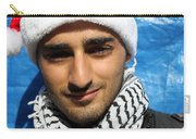 Young Palestinian Man Carry-all Pouch