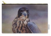 Young Peregrine Falcon Carry-all Pouch