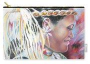 Young Polynesian Mama Carry-all Pouch