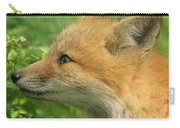 Young Red Fox In Profile Carry-all Pouch