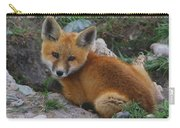 Young Red Fox Carry-all Pouch