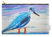 Young Seagull Coastal Abstract Carry-all Pouch
