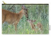 Young White-tailed Deer Say Hello Carry-all Pouch