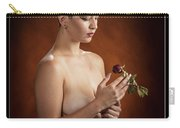 Young Woman Nude 1729.175 Carry-all Pouch
