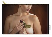 Young Woman Nude 1729.177 Carry-all Pouch