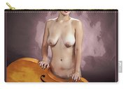 Young Woman Nude 1729.200 Carry-all Pouch