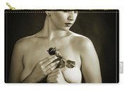 Young Woman Nude 1729.552 Carry-all Pouch