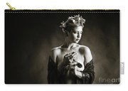 Young Woman Nude 1729.554 Carry-all Pouch