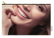 Young Woman With A Natural Smile Carry-all Pouch