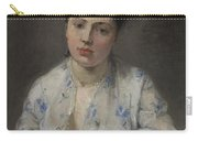 Young Women By Berthe Morisot Carry-all Pouch