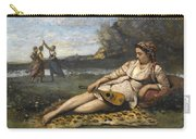 Young Women Of Sparta By Jean-baptiste-camille Corot, 1868-1870. Carry-all Pouch