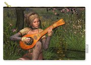 Young Women Playing The Lute Carry-all Pouch