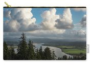 Youngs Bay And Clouds Carry-all Pouch
