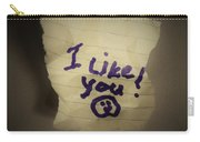 Your 1st Love Note Carry-all Pouch