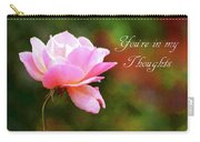Your In My Thoughts Painting Carry-all Pouch
