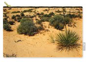 Yucca And Desert Primrose In The Valley Of Fire Carry-all Pouch