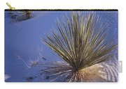 Yucca In Gypsum Sand Carry-all Pouch