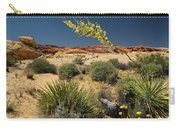 Yucca In The Valley Of Fire Carry-all Pouch