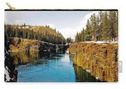 Yukon River And Miles Canyon - Whitehorse Carry-all Pouch