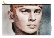 Yul Brynner, Hollywood Legend By John Springfield Carry-all Pouch