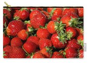 Yummy Fresh Strawberries Carry-all Pouch