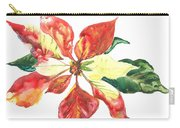 Yupo Poinsettia Carry-all Pouch