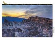 Zabriskie Point Sunset Carry-all Pouch