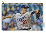 Zack Greinke Los Angeles Dodgers Carry-all Pouch