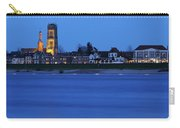 Zaltbommel Skyline Along The Waal River At Dusk Carry-all Pouch