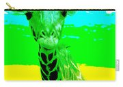 Zany Giraffe Carry-all Pouch