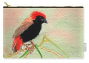Zanzibar Red Bishop Carry-all Pouch