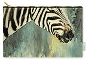 Zebra Abstracts Too Carry-all Pouch