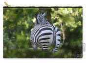 Zebra Curves And Stripes Carry-all Pouch