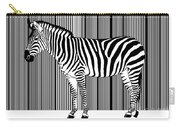 Zebra Barcode Carry-all Pouch
