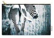 Zebra Blues  Carry-all Pouch