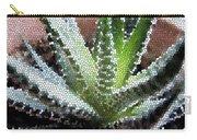 Zebra Cactus  Carry-all Pouch