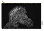 Zebra Computer Drawing Carry-all Pouch