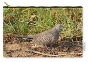 Zebra Dove Carry-all Pouch