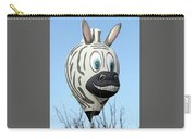 Zebra Hot Air Balloon At Balloon Fiesta Carry-all Pouch