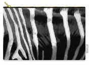 Zebra Lines Carry-all Pouch