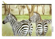 Zebra Pals Carry-all Pouch