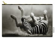 Zebra Rolling Carry-all Pouch