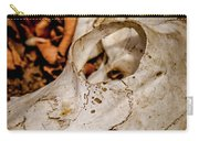 Zebra Skull Carry-all Pouch