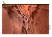 Zebra Slot Canyon Glow Carry-all Pouch