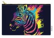 Zebra Splatters Carry-all Pouch