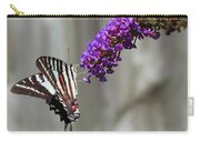 Zebra Swallowtail Butterfly 2 Carry-all Pouch